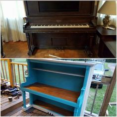 8 Creative Furniture Makeovers (Friday Features + Link Up)