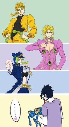 uh- Jotaro? are u gonna dress as Jolyne for her sake?