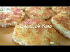 (240) AREPA DE YUCA-Recetas Saludables - HECHOxMAMÁ - YouTube