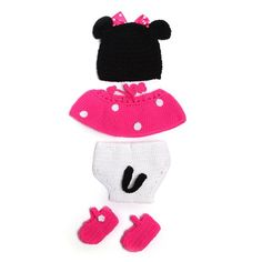 Soft Handmade Crochet Cotton Newborn Baby Photography Props Knitted Fotografia Costume For 0~12 Months Babies Hats Sets KF498