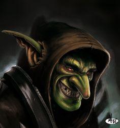 Troll (Goblin dude by DottorFile.deviantart.com on @deviantART)