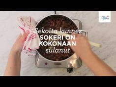 Paahdetut muscovadomantelit - YouTube Youtube, Food, Essen, Meals, Youtubers, Yemek, Youtube Movies, Eten