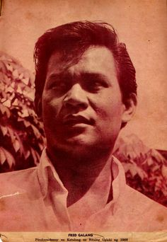 Fred Galang 1969