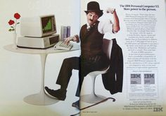 Advertising Pics — 1983 double-paged ad for the IBM Personal Computer...