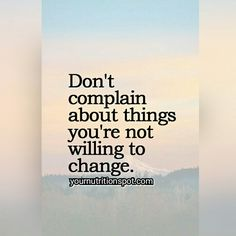 This is not usually very popular! but it is very true whether we like it or not. these are words to live by!#changeyourmind #changeyourlife #choices #mindset #motivation #inspiration #yournutritionspot #attitudeiseverything