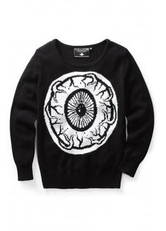 Killstar My Eye Knit Sweater | Attitude Clothing