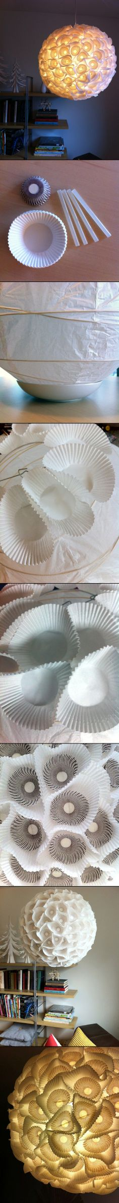 DIY PROJECT: SCULPTURAL PAPER ORB LIGHTS