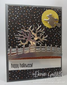 Halloween Pop up panel card front Dawn Griffith check out the video on my blog…