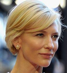 Cate Blanchett Short Straight Cut - Short Hairstyles Lookbook - StyleBistro