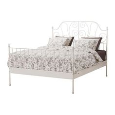 ikea king size white metal bed frame on Gumtree. white metal bed frame used but in good condition, only selling as a little too large for the room.