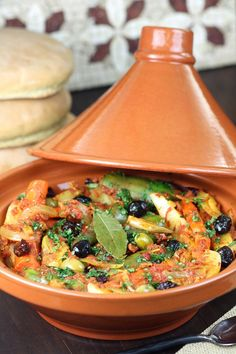 Morrocan Food, Moroccan Dishes, Moroccan Recipes, Tajin Recipes, Coctails Recipes, Vegetarian Recipes, Cooking Recipes, Healthy Recipes, Vegetarian Tagine
