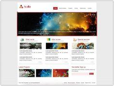 The 38 best web designs inspiration images on pinterest web design 27 free dreamweaver templates 2016 free html website maxwellsz