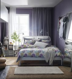 Your bedroom is your personal recharging station. Soft textiles and comforting rugs are all it takes to create a calm space to unwind.