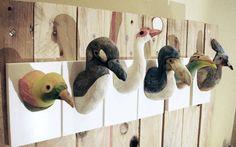Items similar to Extinct and Bird of Paradise Utility Hooks SET OF 6 on Etsy Extinct Birds, Creative Industries, Dinosaur Stuffed Animal, Handmade Gifts, Gao, Hooks, Paradise, Designers, March