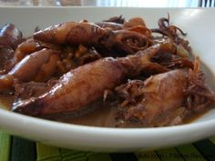 Recipes From 1861 | ... Adobong Pusit (Squid Adobo) | Magluto.com - Filipino Dishes & Recipes