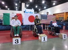 Photo of the Week: Japanese Lions Member Prepares for the London Paralympics