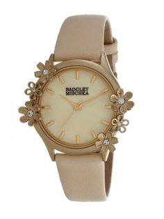 #1: Low price  Badgley Mischka Ba-1126cmcr Crystal Accented Ladies Watch on Sale