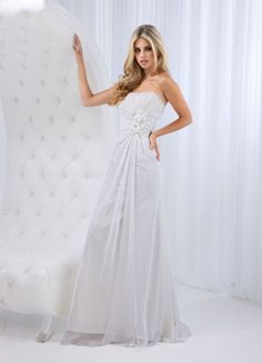 Impression Destiny 11564 Fabric:Chiffon. #IMPRESSION DESTINY WEDDING DRESS #wedding gowns, #wedding gown, #designer wedding gowns, #modest wedding gowns, #lace wedding gowns, #wedding gowns with sleeves, #lace wedding gown #timelesstreasure