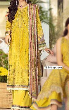 Golden Yellow Lawn Suit   Buy Rang Rasiya Pakistani Dresses and Clothing online in USA, UK Pakistani Lawn Suits, Pakistani Dresses, Fashion Pants, Fashion Dresses, Rang Rasiya, Suits Online Shopping, Add Sleeves, Buy Rings, Lawn Fabric
