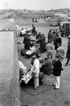 timewastingmachine:  1963 Dutch Grand Prix