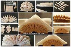 Cómo hacer un bello servilletero con pinzas de madera. Haz PIN para guardar. Manualidades / Crafts