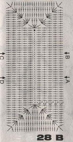 Voici des modèles des sacs au crochet , avec leurs diagrammes gratuits , ou leurs grilles gartuites .. Le premier modèle de sac a u crochet Et voici les diagrammes /grilles gratuites du sac au crochet Voici un autre modèle de sac au crochet ... Et voici...