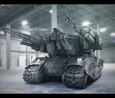"Nuthin' But Mech Site B: ZSU-40-4 Self Propelled Anti Aircraft Gun ""Tarsier"""
