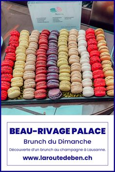Bruncher au Beau-Rivage Palace, c'est découvrir un écrin gastronomique au bord du lac Léman. #lausanne #brunch #luxury #suisse Lausanne, Brunch Au Champagne, Beau Rivage, Palace, Mets, Macaron, Pain Au Chocolat, Switzerland, Fine Dining