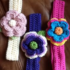 Describe tu pin...crochet headbands for girls