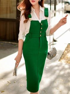 Wearing women's clothes new design clothes for ladies,orange blazer womens where to get hipster clothes online,preppy 2016 rock attire. Jumper Dress, Dress Skirt, Dress Up, Midi Skirt, Pink Fashion, Runway Fashion, Womens Fashion, Fashion Trends, Fashion Fashion