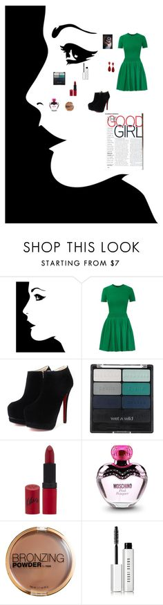 """good girl"" by anela1510 ❤ liked on Polyvore featuring Alexander McQueen, Wet n Wild, Rimmel, Moschino, H&M, Bobbi Brown Cosmetics, Style & Co., women's clothing, women's fashion and women"