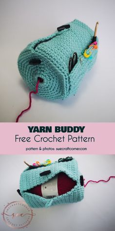Crochet Yarn Buddy Free Crochet Pattern, Buddy Free Crochet Pattern Yarn Buddy Free Crochet Pattern crochet stuff i wanna do. Crochet Home, Love Crochet, Crochet Gifts, Easy Crochet, Funny Crochet, Crochet Amigurumi, Crochet Yarn, Crochet Stitches, Crotchet