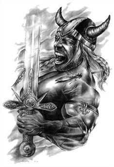 tatouages de paroles vikings and guerrier viking on pinterest. Black Bedroom Furniture Sets. Home Design Ideas