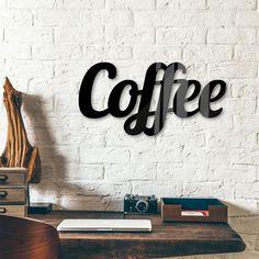 Decoratieletters Acrylglas Coffee - wall-art.nl