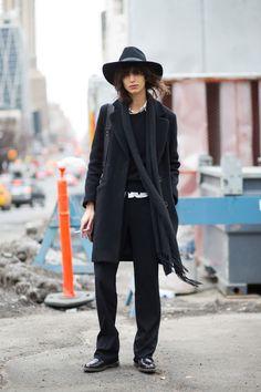 #Black #Vintage #NYFW #NewYork #Fashion #Designer #AH2015 #Style #Trend #Streetstyle #design #PlaceSteFoy #Quebec