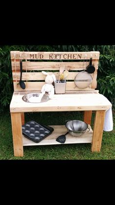 Must make something like this for Alexa and Sophie from all the left over decking wood we have :)