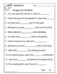 17 Best images about Worksheets on Pinterest | Grade 2 ...