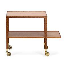 Tevagn 470 Mahogny, Svenskt Tenn, bar cart, furniture, wood, Swedish