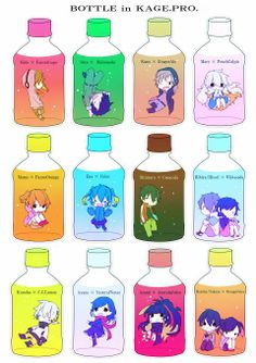 I would would combine them all and DRINK IT. ((Wow this is odd x3))