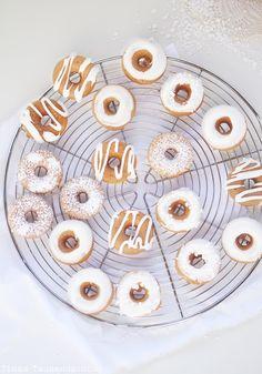Mini Spekulatius Donuts