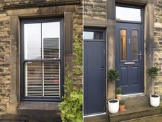 PVC sash windows and doors in Anthracite Grey (RAL 7016).