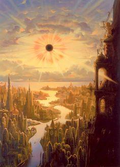 vladmir kush art | Vladimir Kush, amazing Artist!