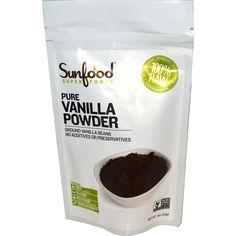 Sunfood, Pure Vanilla Powder, 4 oz (113 g) - iHerb.com