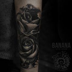One session. 5 h. #varlakovtattoo #tattoo #татуировка #татустудия #татувмоскве #татусалонмосква #реализм #roses