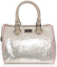 Paul s Boutique Molly Silver Sequin Bag Paul s Boutique 2718f2b3b1375