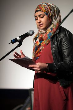 Ainee Fatima 22 years is an award winning poet, writer and activist. Her voice has been her tool to the fight against social injustice and Muslim stereotyping. Ainee's voice also supports young Muslim women with their identity struggle in the U.S