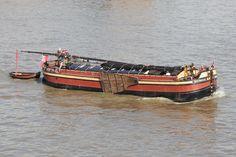 Thames sailing barge 'Daybreak'.