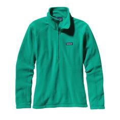 Patagonia Women\'s Micro D\u00AE 1/4-Zip Fleece - Emerald EMRD