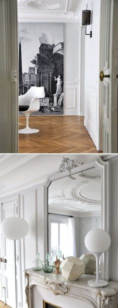 MadAbout Interior Design — Paris Mon Amour: the Parisian apartment...