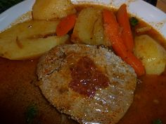 Carne Mechada - Puerto Rican Stuffed Pot Roast